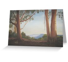 Jamison Valley, Blue Mountains, Australia Greeting Card