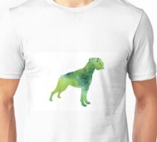 Green abstract boxer for sale Unisex T-Shirt