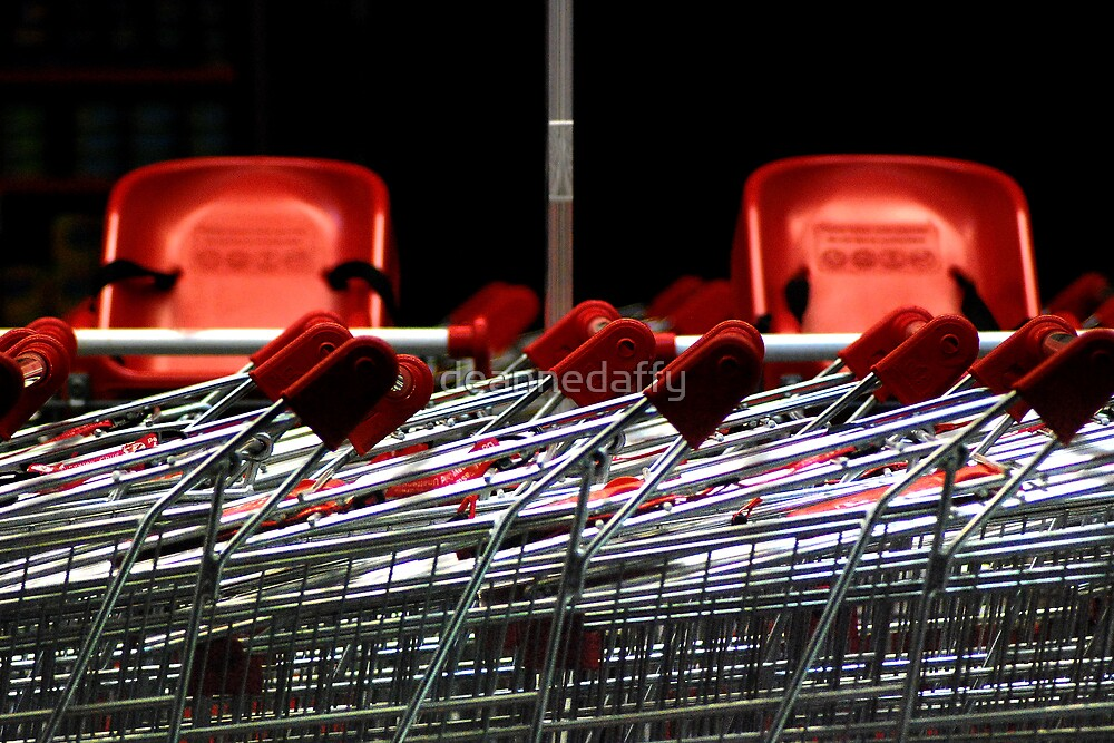 Night Time Shopping by deannedaffy