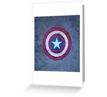 Shield of Captain A. Greeting Card