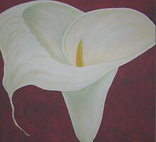 Arum Lily 1 by Kaye McRae