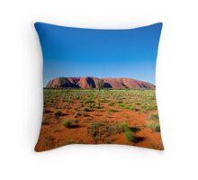 Uluru (Ayres Rock) Throw Pillow