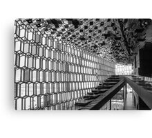 The Stunning Harpa Building Canvas Print