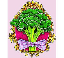Mister Broccoli Photographic Print
