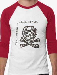 The Dreaded Stamp! Men's Baseball ¾ T-Shirt