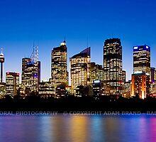 Colourful Sydney by Adam Brand