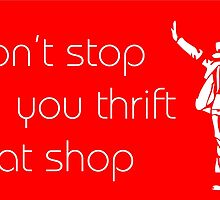 Michael Jackson Thrift Shop by ambermallow