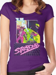 Starbomb II Women's Fitted Scoop T-Shirt