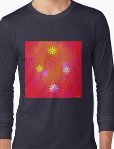 """"""" Love, if it holds in a single flower, is infinite. """" Long Sleeve T-Shirt"""