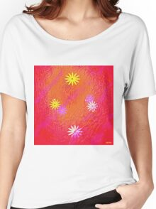 """ Love, if it holds in a single flower, is infinite. "" Women's Relaxed Fit T-Shirt"