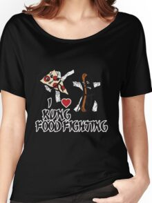 I Love Kung Food FIghting Women's Relaxed Fit T-Shirt