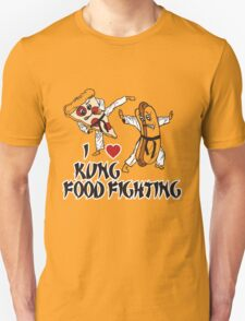 I Love Kung Food FIghting T-Shirt
