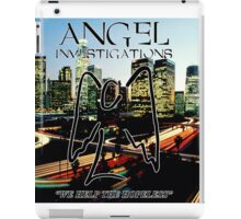 Angel Investigations iPad Case/Skin