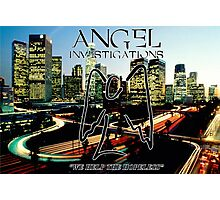 Angel Investigations Photographic Print