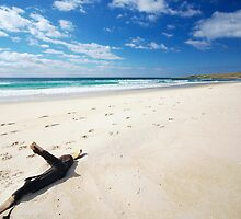4 Mile Beach, Tasmania by groophics