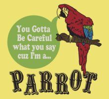 I'M A PARROT Kids Clothes