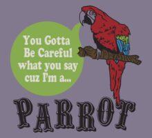 I'M A PARROT Kids Tee