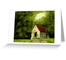 """""""Country Church 1""""... prints and products Greeting Card"""