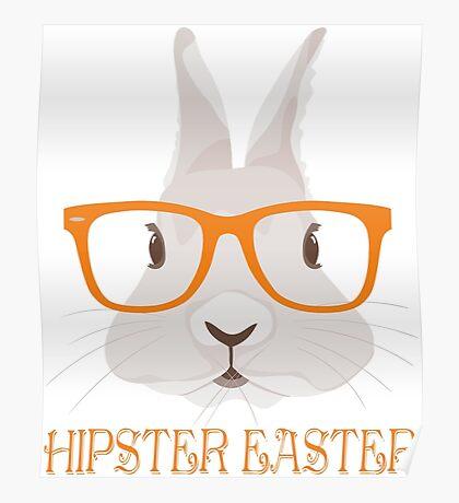 Hipster Easter Poster