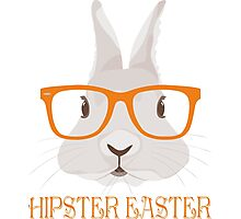Hipster Easter Photographic Print