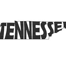 Tennessee State Word Art by surgedesigns
