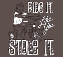 RIDE IT LIKE YOU STOLE IT by Heather Daniels