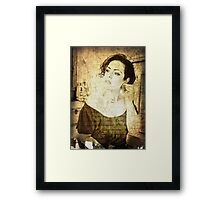 how does her story end? Framed Print