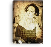 how does her story end? Canvas Print