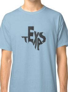Texas State Word Art Classic T-Shirt