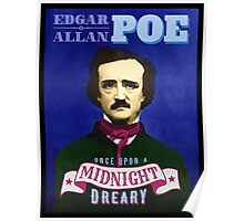 Edgar Allan Poe - The Raven Quotation Portrait Poster