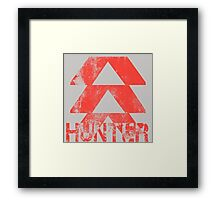 Destiny Hunter grunge Framed Print