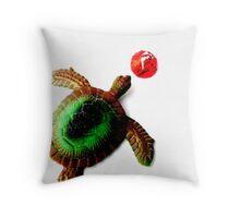 Turtle Treats. Throw Pillow