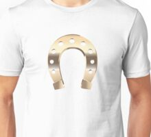 Gold horseshoe Unisex T-Shirt