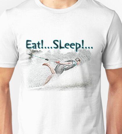 Eat Sleep Barefoot Unisex T-Shirt
