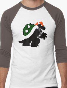 Nintendo Forever - Bowser King of the Koopas Men's Baseball ¾ T-Shirt