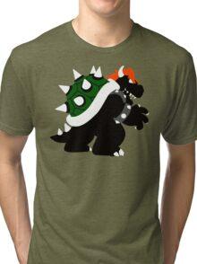 Nintendo Forever - Bowser King of the Koopas Tri-blend T-Shirt