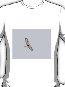 Rough-legged Hawk In Flight T-Shirt