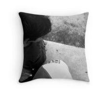 SK8 Heads Throw Pillow