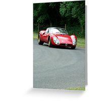 Alfa Romeo 33/2 Stradale Greeting Card