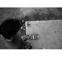 Concrete Simplicity Photographic Print