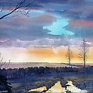 Late Evening at Burton Agnes by Glenn  Marshall