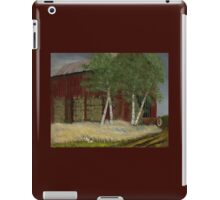 """Old Man Walker's Barn""... prints and products iPad Case/Skin"