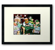 The Wearin' of the Green Framed Print