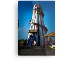 Travel - Brighton Pier Lighthouse Metal Print