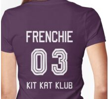 Kit Kat Klub Girl - Frenchie Womens Fitted T-Shirt