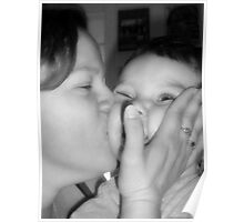 Motherly Kisses Poster