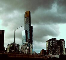 Eureka Tower at Dusk by Tom Newman