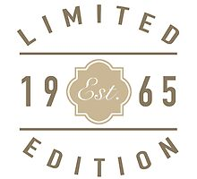 1965 Limited Edition by thepixelgarden