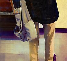 Purple Shoes at the Museum by RC deWinter