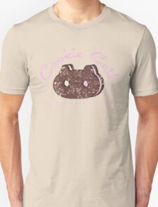Cookie Cat Vintage Logo T-Shirt